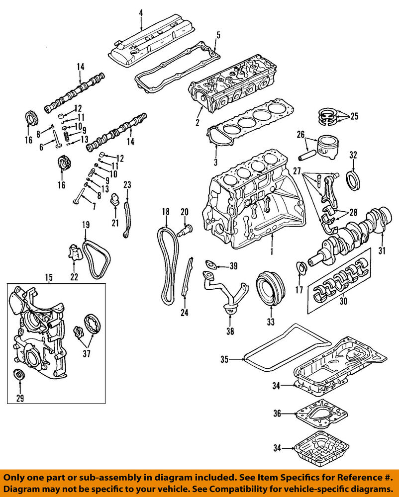 hight resolution of details about nissan oem 02 06 altima engine valve cover 132643z001