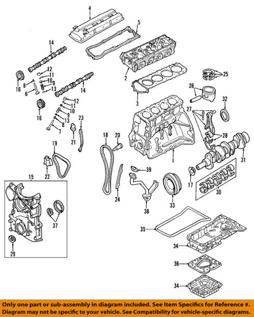 small resolution of details about nissan oem 02 06 altima engine valve cover 132643z001