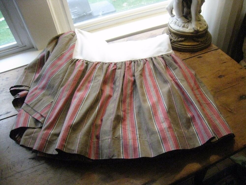 NAUTICA COUNTRY STRIPEDNICE THICKNESS Amp FEELTWIN BED SKIRT EBay