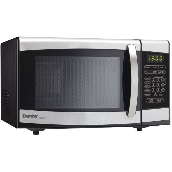 Danby Dmw077blsdd 0.7 Cu. Ft. Stainless Countertop Microwave 67638902328