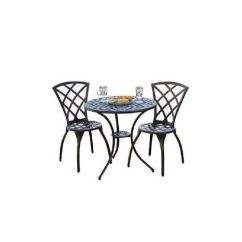 Aluminum Patio Chairs Hanging Chair Stand Cheap Bistro Set Outdoor Garden Furniture Cast Aluminum, (3-piece) Table | Ebay