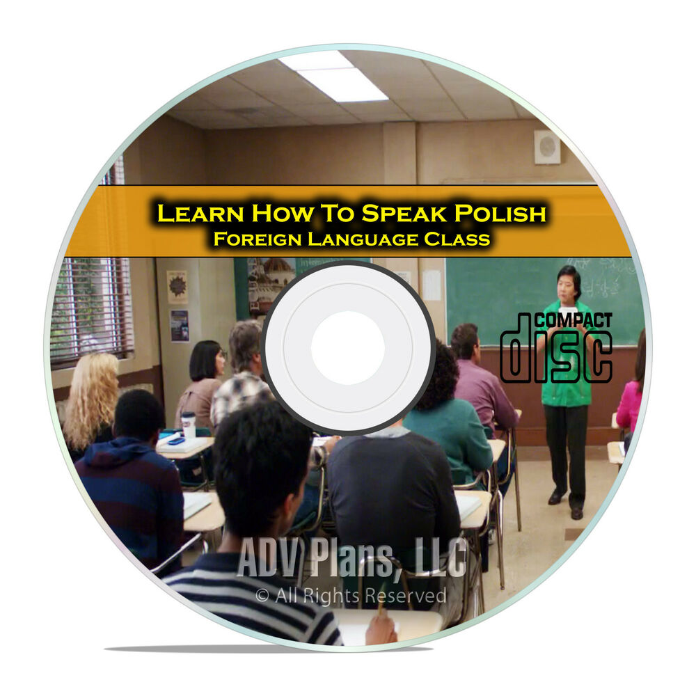 Learn How To Speak Polish, Fluent Foreign Language Training Class, Cd E11  Ebay
