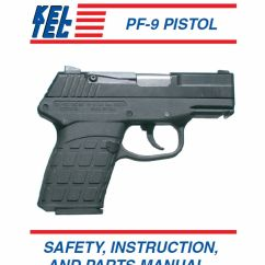 Kel Tec Pf9 Parts Diagram Conventional Fire Alarm Wiring Owners Manual Books Keltec Pf 9 Pistol Instruction And Maintenance Ebay