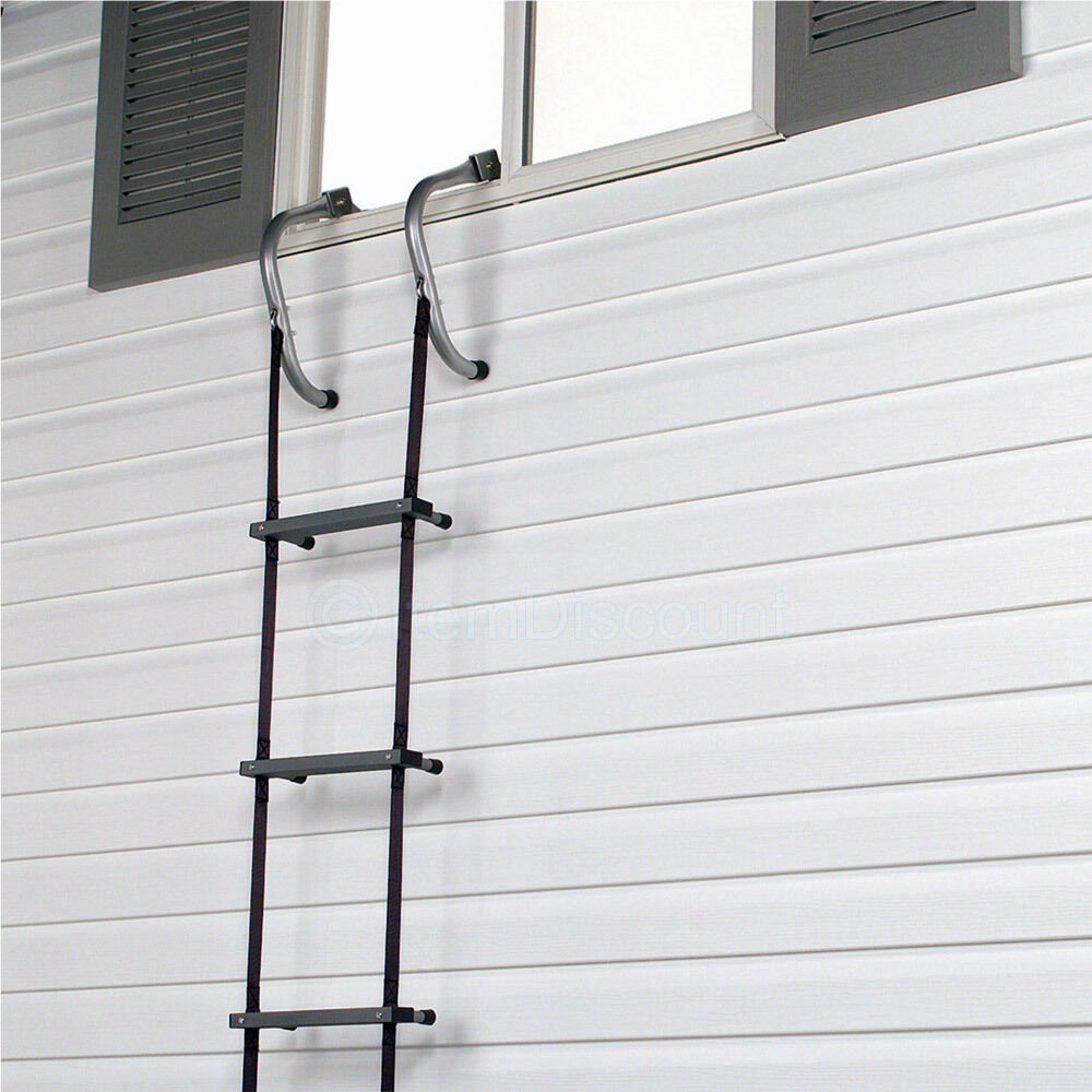 2 3 Story Fire Escape Ladder Rope Window Safety