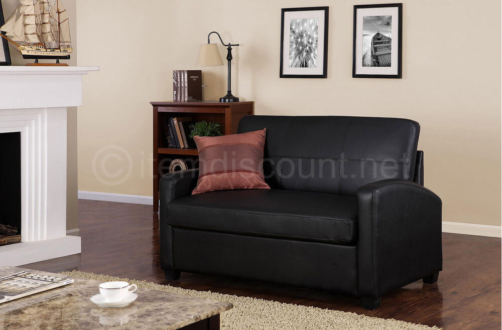 loveseat twin sleeper sofa modern sectional sofas mississauga small mattress couch ...