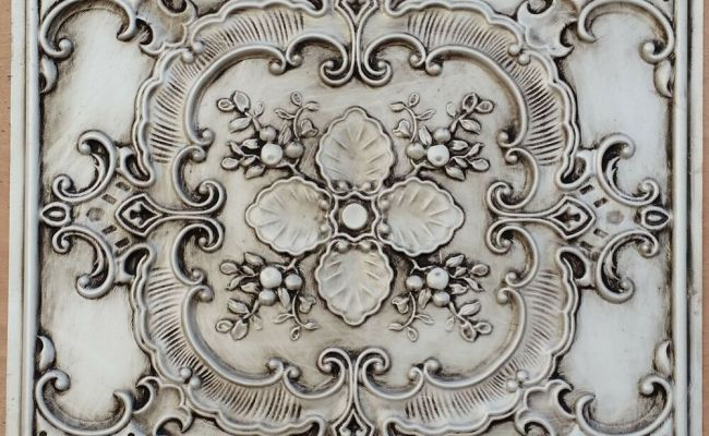Pl19 Faux Tin Countryside Style Ceiling Tiles Decorative