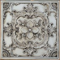PL19 Faux tin countryside style ceiling tiles decorative ...