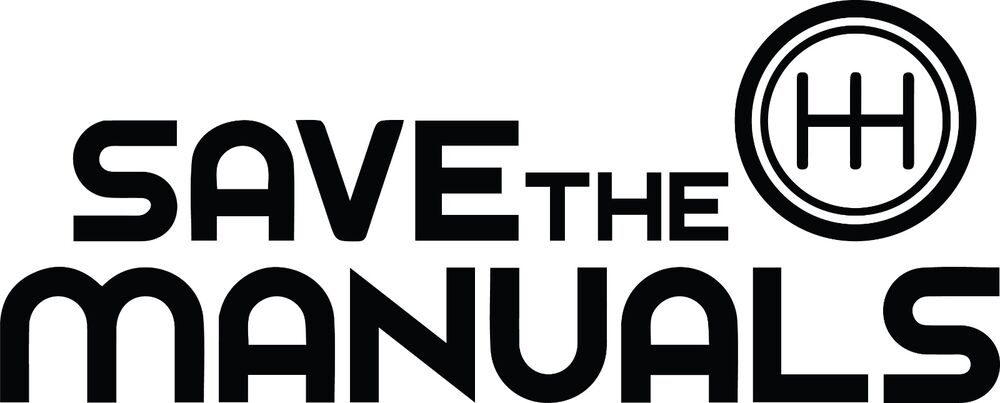 SAVE THE MANUALS DECAL 5