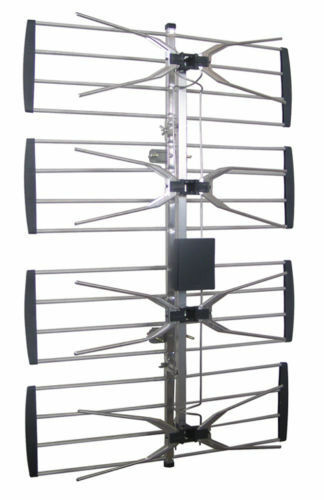 Powerful Outdoor Indoor Digital Amplified TV Antenna UHF