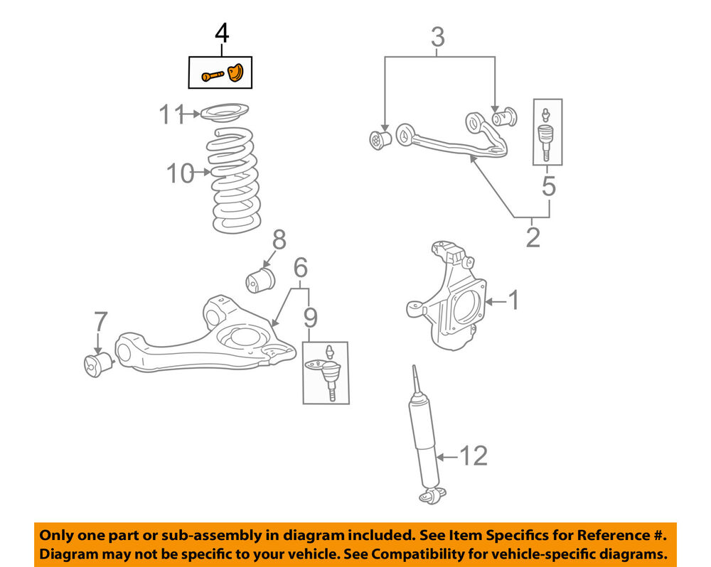 medium resolution of details about gm oem front suspension alignment cam 15741217