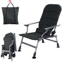 Army Green Portable Folding Adjustable Fishing Chair ...