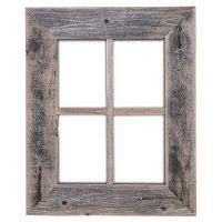 Rustic Decor Old Rustic Window Barn Wood Frames- NOT FOR ...