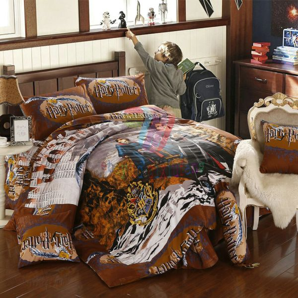 Harry Potter 8pcs Twin Full Queen Size Comforter In
