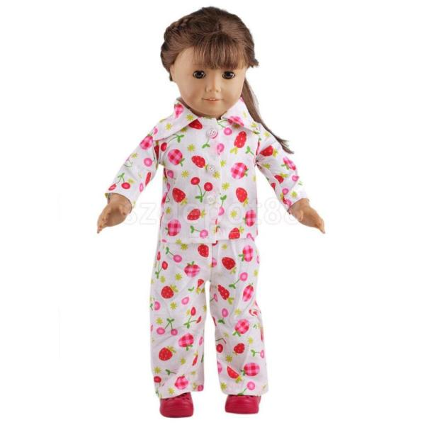 Cute Pajamas PJS Nightgown Clothes for 18quot Our Generation