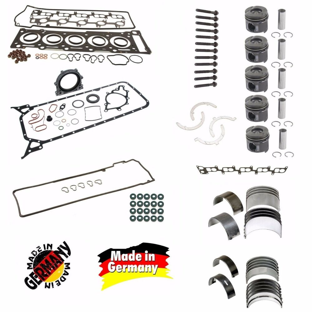 OEM Standard Size Engine Rebuild Kit 04-06 OM647 2.7 Dodge