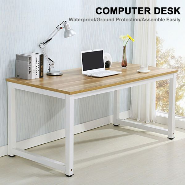 home office desk work Computer Desk PC Laptop Table Wood Workstation Study Home