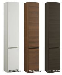 Modern 175cm tall bathroom storage, Cabinet, Matt finish