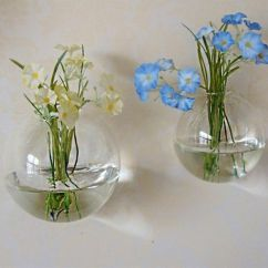 Living Room Flower Vases Warm Colors To Paint Wall Hanging Clear Glass Vase Plant Hydroponics ...