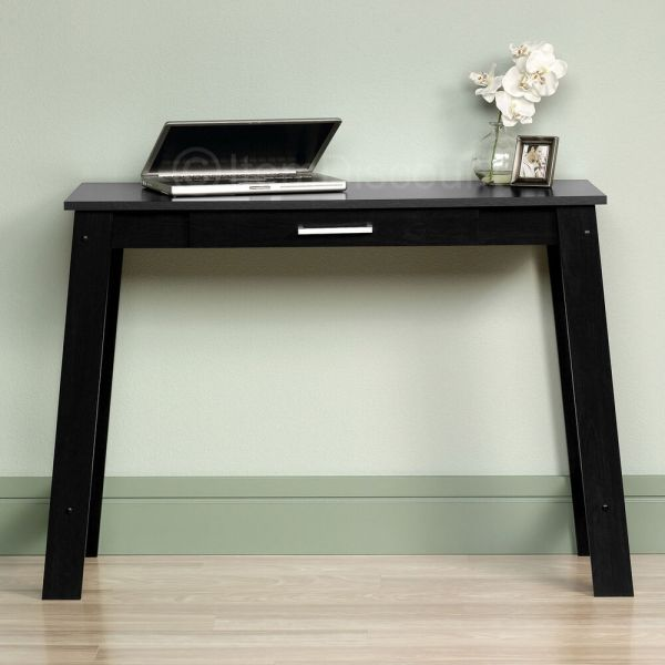 Small Writing Table Laptop Desk Vanity Drawer Computer