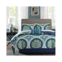 Bedroom Comforter Set 9Pc Bed In A Bag With Sheets Master ...