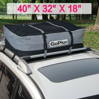 Car Van Suv Roof Top Waterproof Luggage Travel Cargo Rack ...