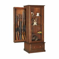 Mouse over image to zoom Curio-Gun-Cabinet-Combination ...