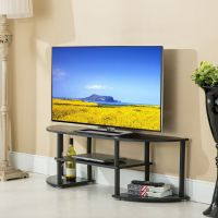 Entertainment Center TV Stand Console Wood Media Furniture ...