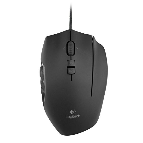 Logitech G600 20 Button Mmo Gaming Mouse With Custom Backlight 8200 Max Dpi