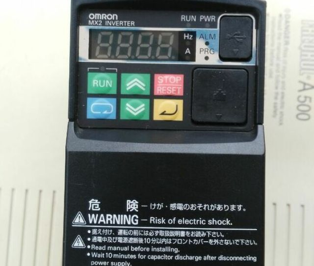 Details About 1pcs Used Omron Inverter Mx 4kw Tested