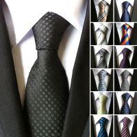 Fashion Tie Slim Mens Ties Jacquard Necktie Neckwear