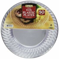 Fancy Plastic Plates For Parties Wedding Clear Buffet ...