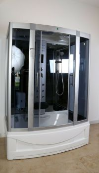 Kokss Shower Room Enclosure Steam shower LED Lights 9001S ...