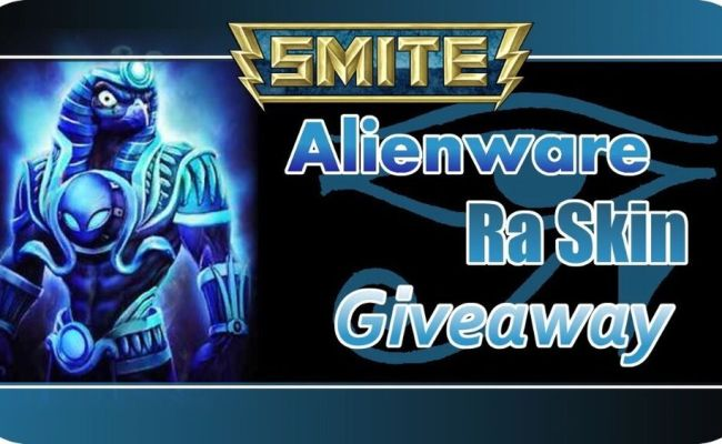 Smite Alienware Ra Skin Code Instant Delivery Pax