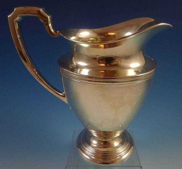 International Sterling Silver Water Pitcher #e28 4 Pint