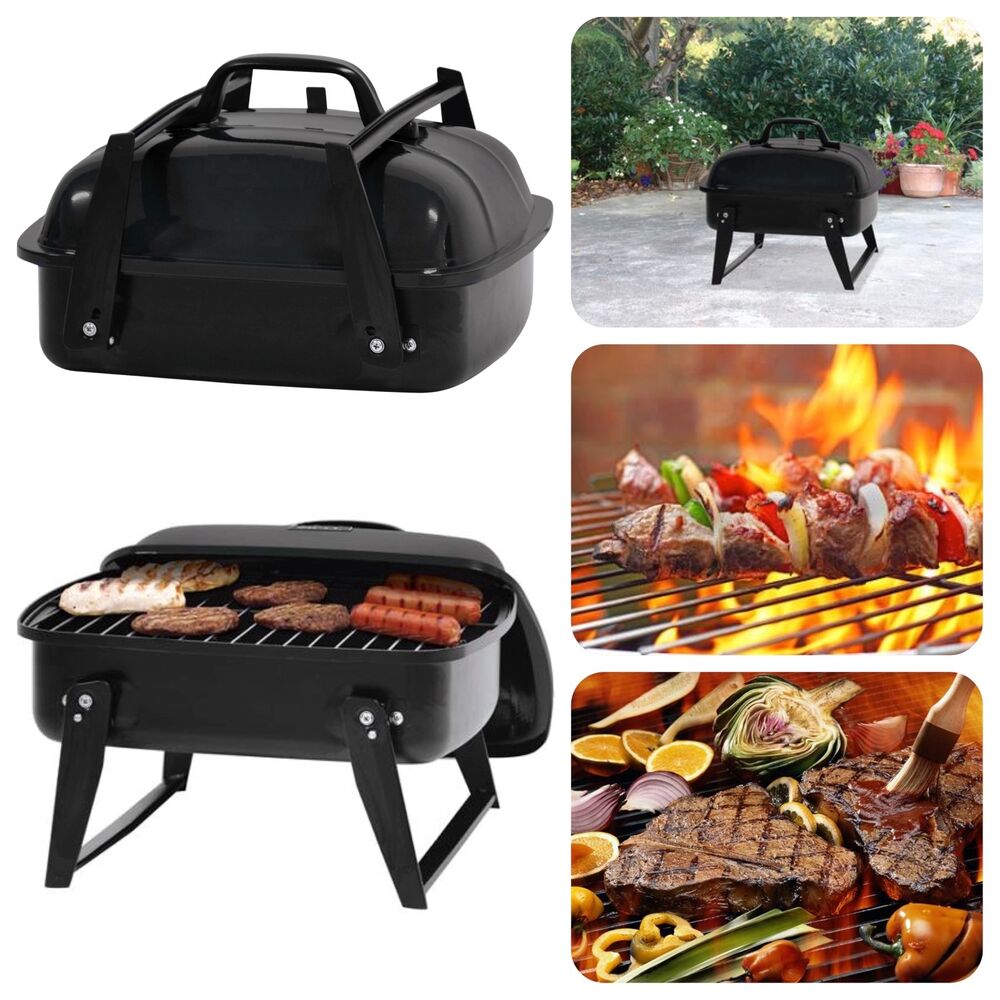 Portable Small Charcoal Grill 12 Barbecue Camping Patio