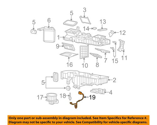 small resolution of gm oem evaporator heater wiring harness 89019303 ebaydetails about gm oem evaporator heater wiring harness 89019303