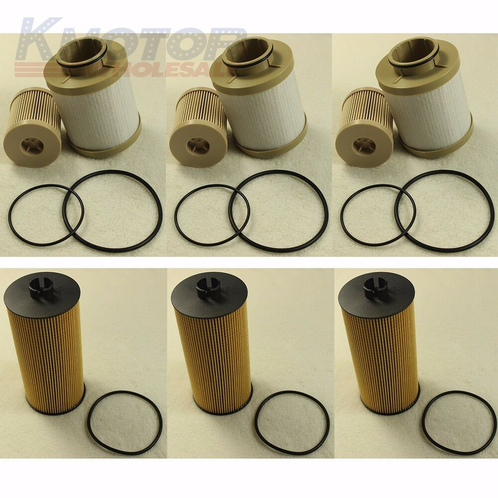 medium resolution of details about 3 of each turbo diesel fuel oil filter replacement fd4616 fl2016 for ford 6 0l