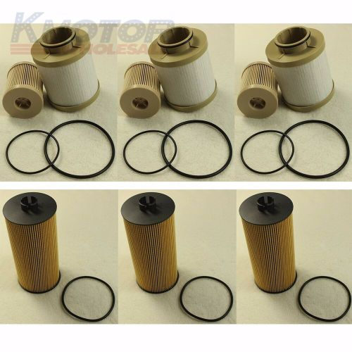 small resolution of details about 3 of each turbo diesel fuel oil filter replacement fd4616 fl2016 for ford 6 0l