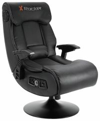X-Rocker Elite Pro 2.1 Audio Faux Leather Gaming Chair | eBay