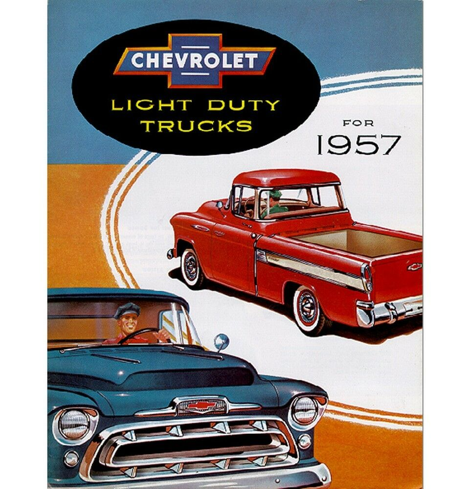 hight resolution of 1957 chevy truck sales brochure