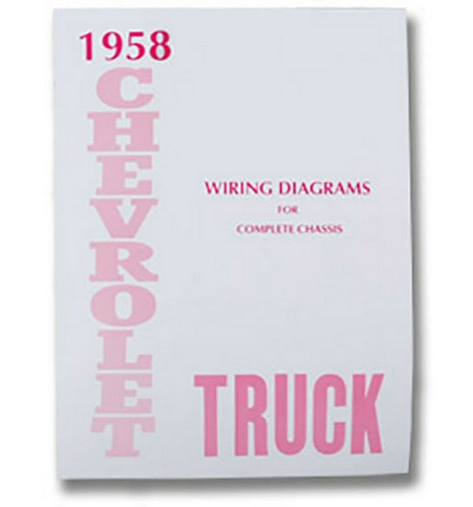 hight resolution of details about 1958 chevy truck wiring diagram