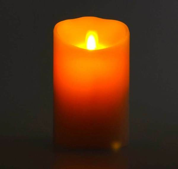 Luminara Moving Wick Flameless Candles with Timer
