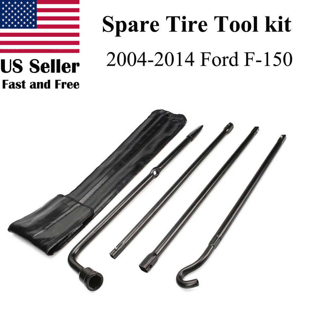2004-2014 Ford F150 Spare Tire Tool Kit Replacement for