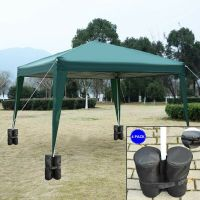 4Pcs Sandbag Anchor Kit Patio Parasol Gazebo Tent Canopy ...