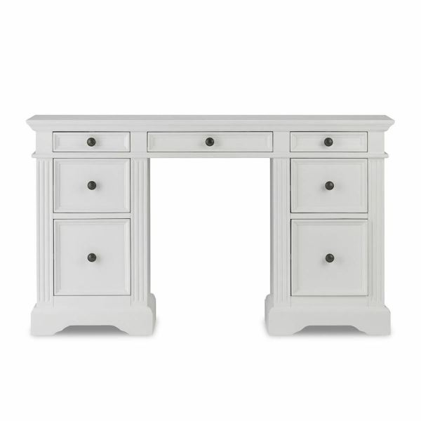 Gainsborough Dressing Table.solid White Table