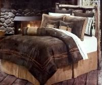Barbed Wire Western Bedding Comforter Set, Ranch, Dark ...