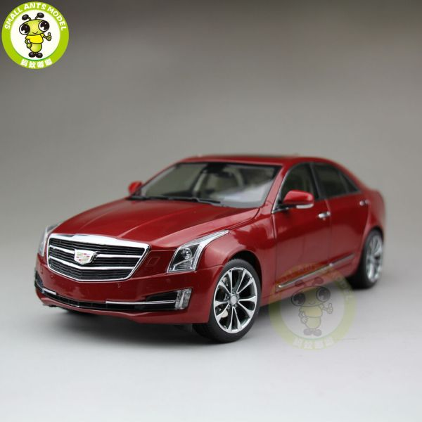 1 18 Gm Cadillac Ats Ats-l 2016 Diecast Model Car Red