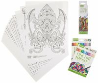 Crayola Adult Coloring Book & Marker Set FREE Shipping USA ...