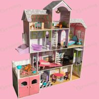 Kidkraft Wooden Kids Grand Estate Barbie Dolls House + 26