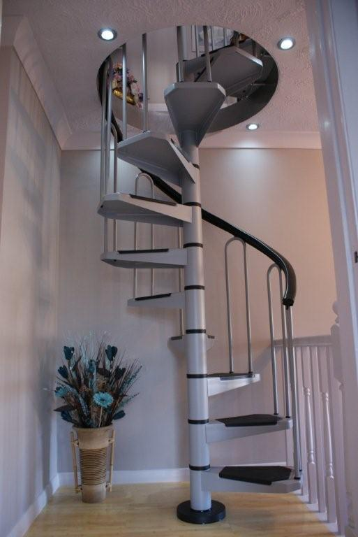 AF26 Petite Small Diameter Spiral Staircase Kit Stairs  eBay